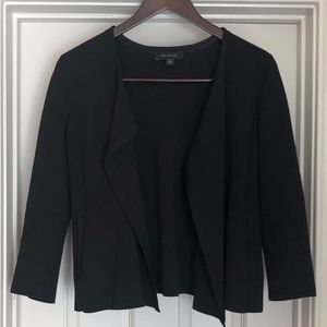 Ann Taylor Black Sweater Blazer